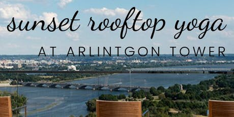 Sunset Rooftop Yoga at Arlington Tower tickets