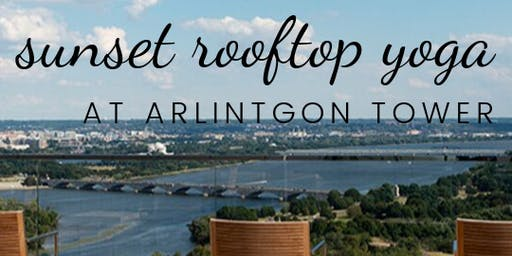 Sunset Rooftop Yoga at Arlington Tower