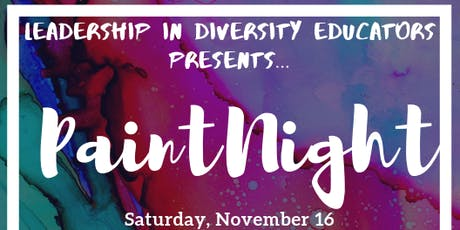 LID Educators Paint Night tickets
