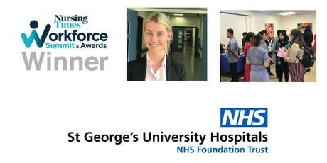 Staff Nurse  Recruitment Day at St George's – home of 24 Hours in A&E tickets