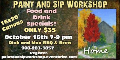 Paint and Sip Workshop