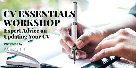 CV Essentials Workshop: Expert Advice on Updating Your CV tickets