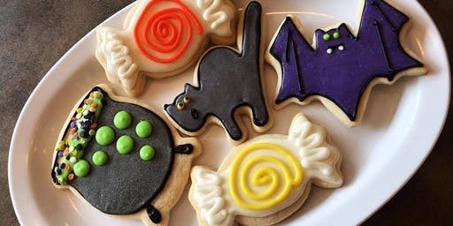 Halloween Cookie Decorating with Jen