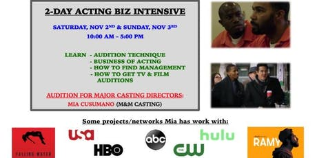 Work in TV & FILM: Audition for Major NY Casting Director tickets