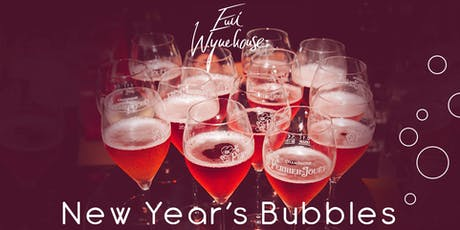 NEW YEAR'S BUBBLES 19/20 Tickets