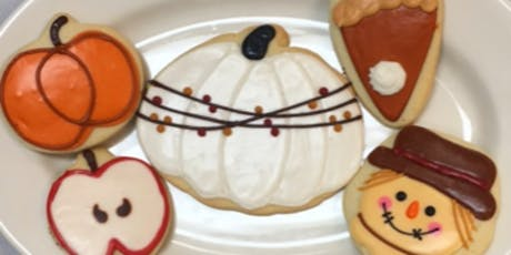 Fall Harvest Cookie Decorating with Jen tickets