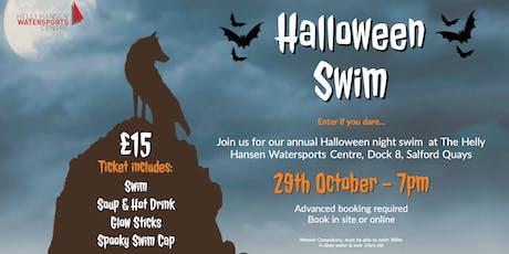 Halloween Open Water Night Swim! tickets