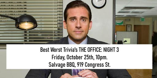 The Office Trivia at Salvage BBQ: Night Three