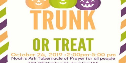 3rd Annual Trunk or Treat Community Event