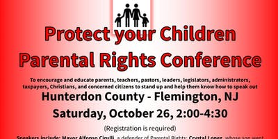Protect Your Children Parental Rights Conference