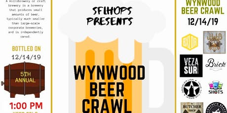Wynwood Bar Crawl tickets
