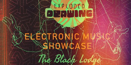 Exploded Drawing Showcase At The Black Lodge tickets