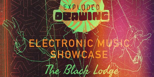 Exploded Drawing Showcase At The Black Lodge