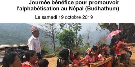 Fondation Alaya : Journée bénéfice pour l'alphabétisation au Népal