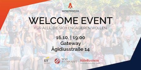 Welcome Event des Entrepreneurs Club Cologne e.V. Tickets