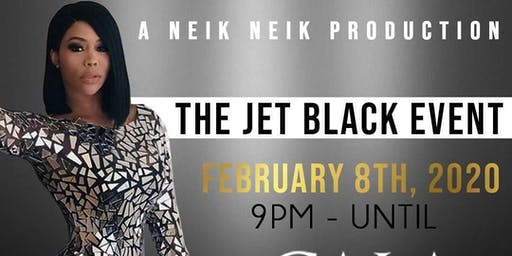 THE JET BLACK EVENT
