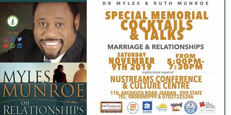 5th Anniversary Memorial Service of Dr Myles & Ruth MUNROE tickets
