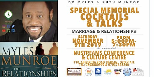5th Anniversary Memorial Service of Dr Myles & Ruth MUNROE