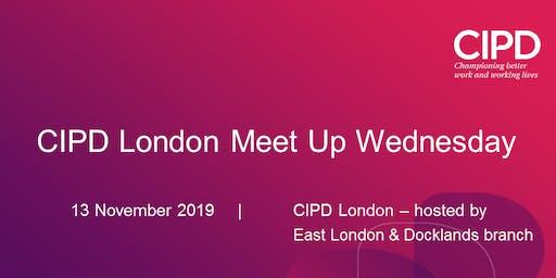 CIPD London Meet-up-Wednesday networking evening