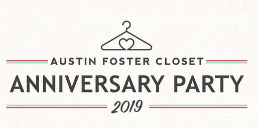 Austin Foster Closet Anniversary Party