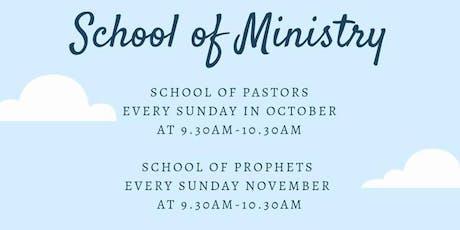 NCC Edmonton - School of Ministry - Pastors Class tickets