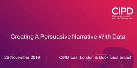 Creating A Persuasive Narrative With Data tickets