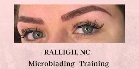 Microblading Group Training Raleigh NC.- December 8th  tickets