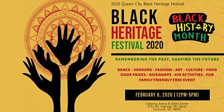 2020 Queen City Black Heritage Festival tickets