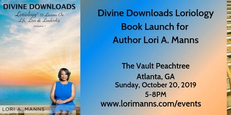 Divine Downloads Loriology Book Launch tickets