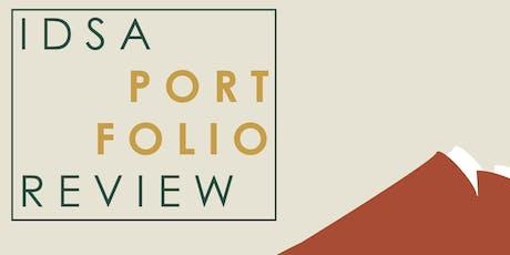 Appstate IDSA Portfolio Review  2019 tickets