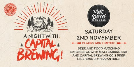 A Night with Capital Brewing tickets