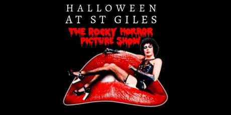 The Rocky Horror Picture Show: Film & Fancy Dress Halloween at St Giles. tickets