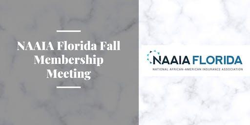 NAAIA Florida Fall Membership Meeting
