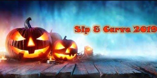 Sip & Carve Halloween Edition 2019