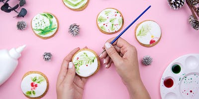 Watercolor Cookie Decorating