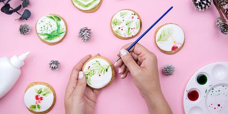 Watercolor Cookie Decorating tickets