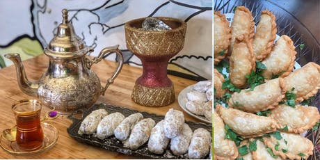 Learn to Make Sudanese Sambusas and Smoked Tea  tickets