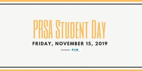 PRSA Student Day 2019 tickets