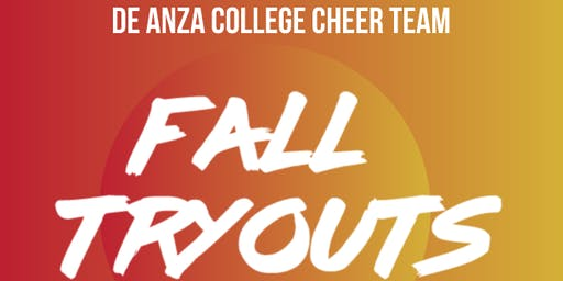 De Anza College Cheer Team Fall Tryouts