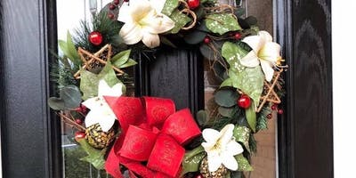 Christmas Wreath in Heath Workshop