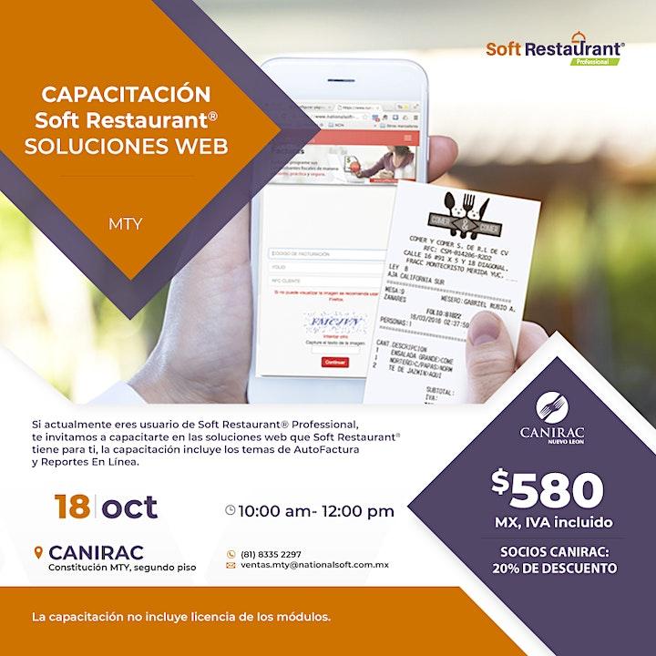 Imagen de Capacitación Soft Restaurant - Soluciones Web MTY