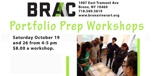 Portfolio Prep Workshops