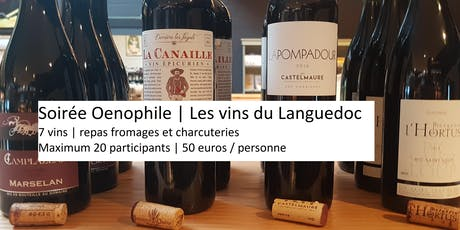 Les Halles | Soirée oenophile : les vins du Languedoc tickets