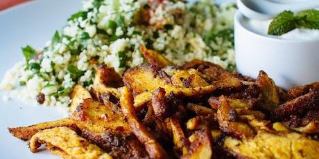 Syrian Cuisine: Chicken Shawarma & Tabouli tickets