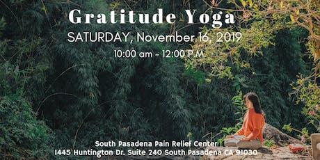 Gratitude Yoga tickets