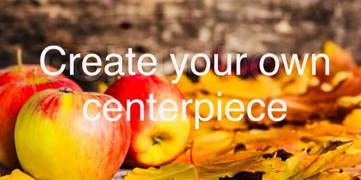 Autumn Apples & Acorn Centerpiece Workshop