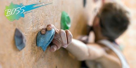 BOSS Intro to Belay Class/Indoor Rock Climbing tickets