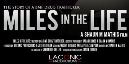 """THE BOOK or THE BAG?""                                CHOICE SPEAKERS, INC. with LACONIC PRODUCTIONS...Present The Award Winning Documentary ""MILES IN THE LIFE"""