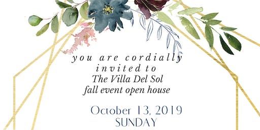Wedding & Special Event Open House