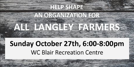 An Association for Langley Farmers tickets